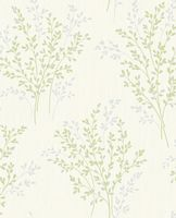 Fine Decor Summer Blossom Green FD40893 Wallpaper
